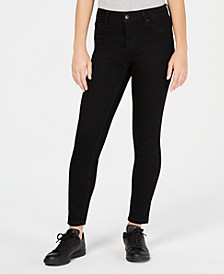 Juniors' Curvy Push-Up Ankle Skinny Jeans