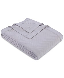 Martha Stewart Collection Triple Knit Full/Queen Blanket, Created for Macy's