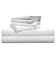 Pillow Guy Luxe Soft & Smooth TENCEL 6-Piece Sheet Set- Queen