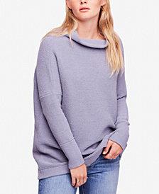 Free People Ottoman Ribbed Tunic Sweater
