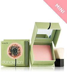 Benefit Cosmetics dandelion box o' powder travel-size blush mini
