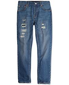 Levi's® Big Boys 501 Skinny Distressed Jeans
