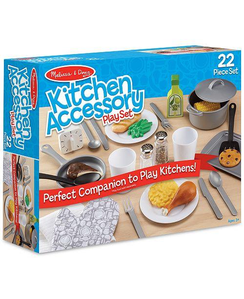 Melissa Doug Kitchen Accessory Playset