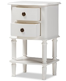 Editha Nightstand, Quick Ship