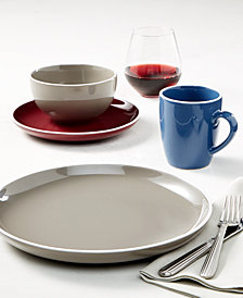 Darbie Angell Potter's Wheel Dinnerware Collection, Created for Macy's