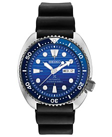 SPECIAL EDITION Men's Automatic Prospex Special Edition Diver Black Silicone Strap Watch 45mm