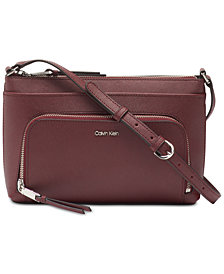Calvin Klein Lily Leather Crossbody