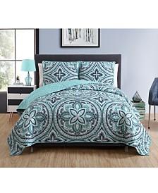 VCNY Home Allison Reversible Quilt Set Collection