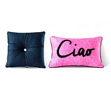 Sara B Santa Monica 2-piece Decorative Pillow Set
