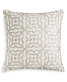 "Lacourte Bergen 24"" Square Decorative Pillow, Created for Macy's"