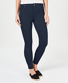 Style & Co Ultra-Skinny Ponté-Knit Pants, Created for Macy's