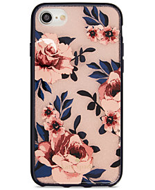 kate spade new york Glitter Prairie Rose iPhone 8 Case