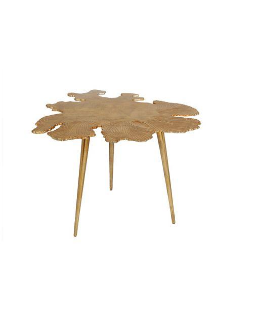 Moe's Home Collection Amoeba Side Table Gold