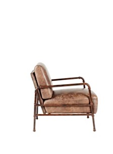 Livingstone Club Chair Light Brown