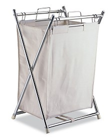 Organize it All Laundry Hamper with Canvas Bag