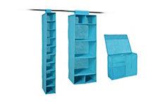 Organize it All 3-Pc. Combo Closet Storage
