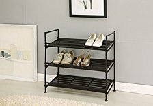 Organize it All 3 Tier Shoe Rack