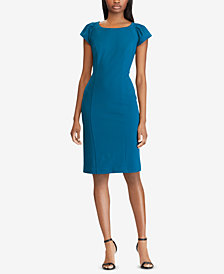 American Living Pleated Crepe Dress