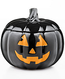 Martha Stewart Collection Jack-O-Lantern Jar, Created for Macy's