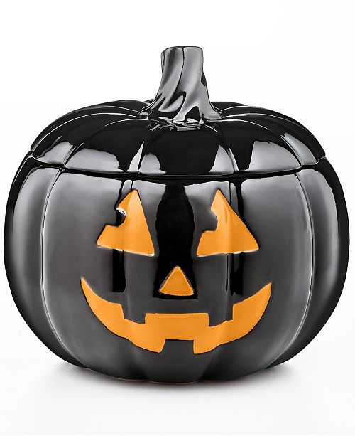 Jack-O-Lantern Jar, Created for Macy's