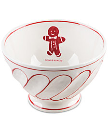 CLOSEOUT! Home Essentials Molly Hatch Gingerbread Bowl