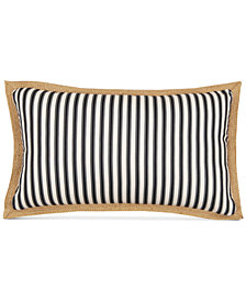 "Hallmart Collectibles Printed Stripe 12"" x 22"" Decorative Pillow"