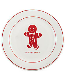 CLOSEOUT! Home Essentials Molly Hatch Gingerbread Dessert Plate
