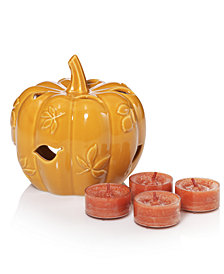CLOSEOUT! Yankee Candle Harvest Pumpkin Luminary