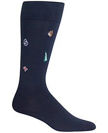 Polo Ralph Lauren Men's Varsity Embroidery Crew Socks