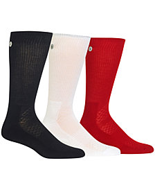 Polo Ralph Lauren Men's Athletic Reflector Crew Socks, 3-Pk.