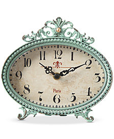 Pewter Mantle Clock