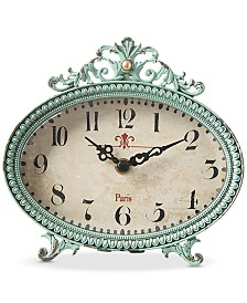 Pewter Mantle Clock