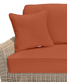 Willough Outdoor Sofa Replacement Sunbrella® Cushion, Quick Ship