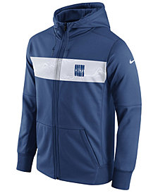Nike Men's Indianapolis Colts Seismic Therma Full-Zip Hoodie