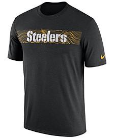 Men's Pittsburgh Steelers Legend On-Field Seismic T-Shirt