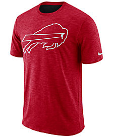 Nike Men's Buffalo Bills Dri-Fit Cotton Slub On-Field T-Shirt