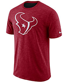 Nike Men's Houston Texans Dri-Fit Cotton Slub On-Field T-Shirt
