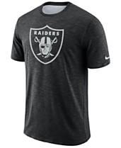 1247424ae Nike Men s Oakland Raiders Dri-FIT Cotton Slub On-Field T-Shirt