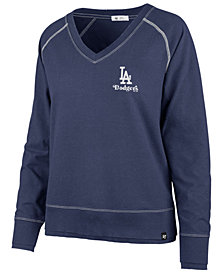 '47 Brand Women's Los Angeles Dodgers Dakota Jumper Pullover Sweatshirt