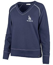 '47 Brand Women's Los Angeles Dodgers Dakota Jumper Pullover Sweatshirt