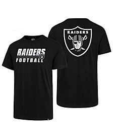'47 Brand Men's Oakland Raiders Fade Back Super Rival T-Shirt