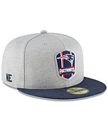 New Era New England Patriots On Field Sideline Road 59FIFTY FITTED Cap