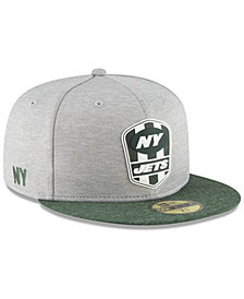 New Era New York Jets On Field Sideline Road 59FIFTY FITTED Cap