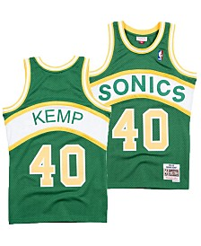 3b27830b4 Mitchell   Ness Men s Shawn Kemp Seattle SuperSonics Hardwood ...