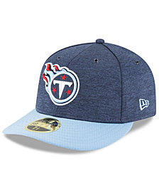 New Era Tennessee Titans On Field Low Profile Sideline Home 59FIFTY FITTED Cap
