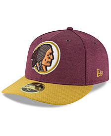 New Era Washington Redskins On Field Low Profile Sideline Home 59FIFTY FITTED Cap