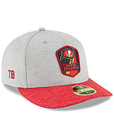 New Era Tampa Bay Buccaneers On Field Low Profile Sideline Road 59FIFTY FITTED Cap
