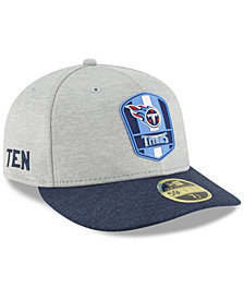 New Era Tennessee Titans On Field Low Profile Sideline Road 59FIFTY FITTED Cap