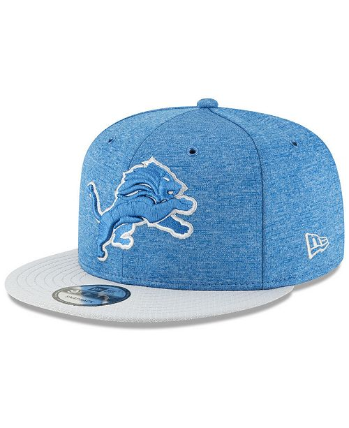 New Era. Detroit Lions On Field Sideline Home 9FIFTY Snapback Cap. Be the  first to Write a Review. main image ... abdefaf4e840