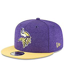 New Era Minnesota Vikings On Field Sideline Home 9FIFTY Snapback Cap